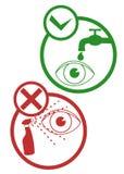 Security eye sign