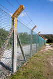 Security Fence Royalty Free Stock Photos