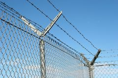 Security fence Royalty Free Stock Photography