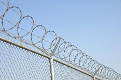 Free Security Fence 2 Stock Image - 1338571