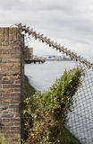 Security fence Stock Images