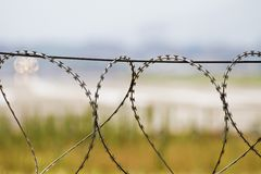 Security fence Stock Photography