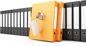 Security folders Royalty Free Stock Photos