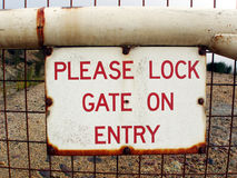 Security Gate Stock Images