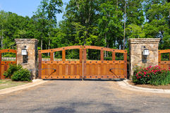 Security Gate Royalty Free Stock Image