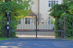 Security Gates Royalty Free Stock Photos
