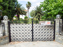 Free Security Gates Stock Photography - 41329962