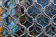 Security grille Stock Photo