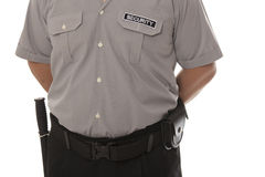 Security guard Royalty Free Stock Photo