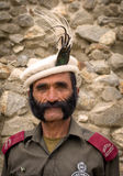 The security guard of Baltit Stock Image