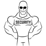 Security Guard Cartoon Stock Photos