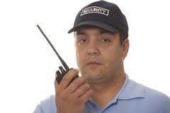 Security guard communication detail Stock Photos