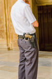 Security guard Royalty Free Stock Image