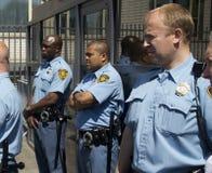 UN Security Guards stock image