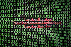 Security hacked Royalty Free Stock Photography