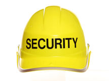 Security hard hat Royalty Free Stock Photo