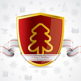 Security holiday background design Stock Images