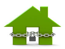 Security house concept Stock Image