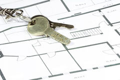 Security house key Stock Photo