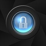 Security icon Royalty Free Stock Image