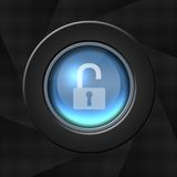 Security icon Stock Images