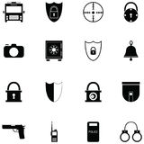 Security icon set. The security of icon set vector illustration