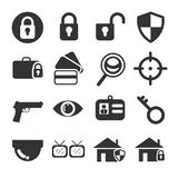 Security Icon Set royalty free stock photo