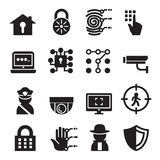 Security icon set. Vector illustration Graphic Design symbol Stock Photo