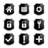 Security Icons Royalty Free Stock Photos