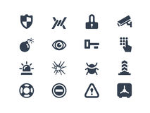 Free Security Icons Stock Image - 33762101