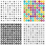 100 security icons set vector variant. 100 security icons set vector in 4 variant for any web design isolated on white Stock Photos