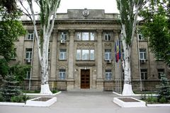 Security and Intelligence Service of Moldova headquaters Stock Photo