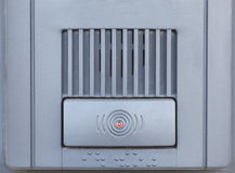 Security intercom Stock Photo