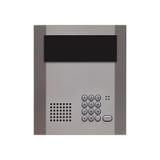Security intercom number keypad Stock Photography