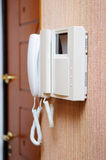 Security intercom speaker Royalty Free Stock Photos