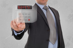 Security internet concept Royalty Free Stock Photography