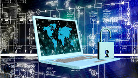Security Internet concept Stock Photo
