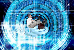 Security internet connection technologies Stock Images