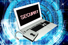 Security internet connection technologies Royalty Free Stock Photo