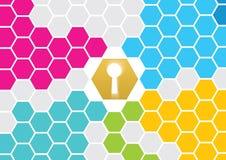 Security Key Hole Stock Images