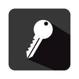 Security key isolated icon Royalty Free Stock Images