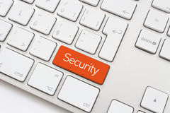 Security key stock photo