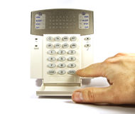 The security keyboard Royalty Free Stock Images