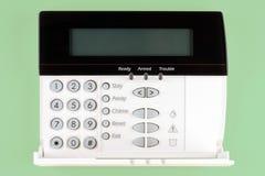 Security keypad. Open securtiy keypad for home alarm Royalty Free Stock Photo