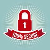 Security label Stock Photo