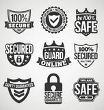 Security labels Stock Photography