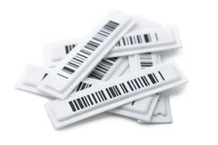 Security labels Royalty Free Stock Images