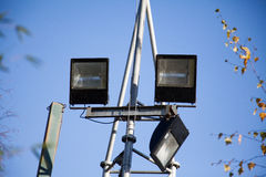 Security lights Royalty Free Stock Photos