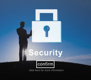 Security Lock Website Online Privacy Concept Royalty Free Stock Images