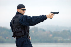 Security man Royalty Free Stock Images